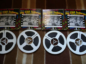 """Super 8mm b/w sound 4x400'' """"THE NAKED AND THE DEAD"""" Original Boxes"""