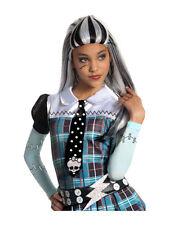 Adult Girls Frankie Stein Monster High Wig Fancy Halloween Costume