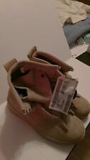 MCRAE, BOOTS COLD WEATHER GORETEX, DESERT TAN, SIZE 6 . 5 - WIDE, NEW WITH TAGS.