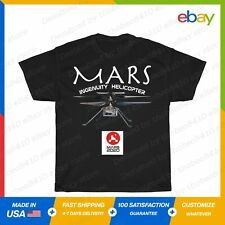 Mars Ingenuity Helicopter Perseverance 2020 T-Shirt Black S-5XL