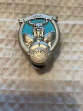 Hard Rock Cafe Pin Stockholm Cameo Style Loki Norse God Pin Light Blue & Silver