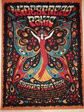 Widespread Panic Duval Poster Art Print Summer Tour 2014 Orange Variant