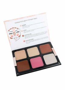 BEAUTY TREATS Face Contour And Sculpt Palette Highlighter Blush Contour powder