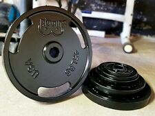 """245 POUND 2"""" OLYMPIC PLATE Set for Barbell American Made Weight Plates Set NEW"""