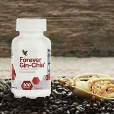 Forever Gin-Chia Ginseng and Chia Powerful antioxidant KOSHER / HALAL Exp. 2022