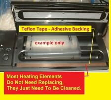 BAG SEAL HEAT REPLACEMENT TAPE NON STICK TEFLON UNIVERSAL FIT ADHESIVE BACKED