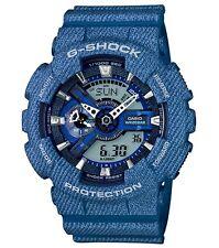 Casio G Shock *GA110DC-2A Denim Pattern Blue Gshock Ivanandsophia COD PayPal