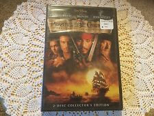 New in Package DVD.  Disney's Pirates of the Caribbean. Curse of the Black Pearl