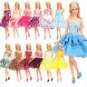 Barwa New Barbie Doll  Random 5 short skirts + 5 hangers + 5 shoes