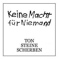 TON STEINE SCHERBEN Keine Macht Für Niemand 2LP Vinyl Rio Reiser FOC * NEU