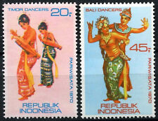 Indonesia 1970 SG#1266-7 Traditional Dancers MH Set #C145
