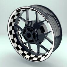 """Felgenaufkleber Felgenrandaufkleber Premium Wheelsticker  """"Racingflag V2"""""""