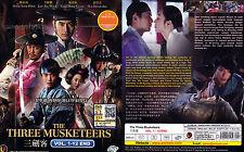 THE THREE MUSKETEERS SEASON 1 삼총사 시즌1 (1-12 End) Korean Drama DVD English Subs