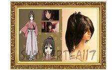 Yukimura Chizuru Ponytail Black  COSPLAY Wig  74300