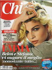 Chi chi CHI Emma Marrone George Clooney Belen Rodriguez Laura Chiatti Inzaghi