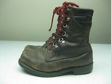 VINTAGE DISTRESSED BROWN RED WING IRISH SETTER SPORT BOOTS MADE IN USA 8.5/9