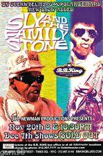 Sly and The Family Stone Larry Graham Concert Handbills Mini Posters Ny Ny 2007