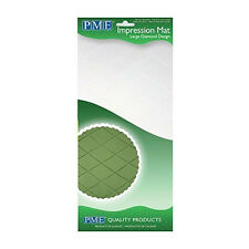 PME LARGE DIAMOND Icing Fondant Impression Emboss Mat Sugarcraft Cake Decoration