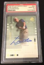 2002 SP Authentic Autographed - Luke Donald - PSA10 Rare Golf Card