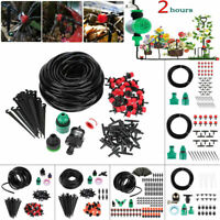 5m- 30m Water Irrigation Kit Set Micro Drip Watering System Auto Plant Garden