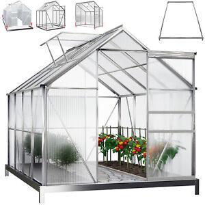 DEUBA® Fundament Stahl Gewächshaus Treibhaus Frühbeet Pflanzenhaus Gerätehaus