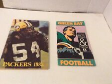 GREEN BAY PACKERS MEDIA GUIDE 1983 WITH PACKERS FACTS FIGURES TRIVIA PHAMPLET