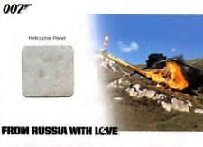 James Bond Archives 2014 Relic Card, JBR43 Helicopter Panel