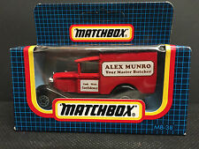 Matchbox Ford Vintage Manufacture Diecast Bus