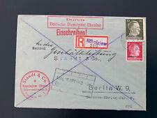 Brief Dienstpost Ukraine Nikolajew 1942 nach Berlin