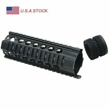 7'' Tactical Rifle Ultra Slim Free Float Quad Rail Keymod Handguard Picatinny Ra