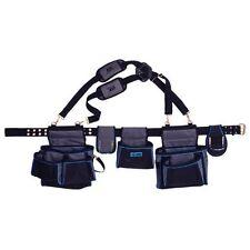 Ox P260801 Pro contratistas Delantal de cinturón de herramientas con bolsas y correas de hombro