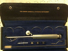 Singer Surgical Stitching Instrument, with Case, Box, 2 Manuals, 2 Parts Lists
