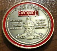 USMC Marine Corps Veteran challenge coin United States Patriotism Semper Fi
