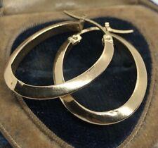 10k Gold Estate Vintage Earrings Hoops