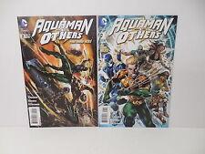 Aquaman And The Others New 52 DC Comic Books 1 2 Dan Jurgens Lan Medina Art