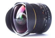 Super-Wide Fisheye Lens 8mm f/3.5 for Canon DSLR 1D 7D 70D 60D 100D 1100D 700D
