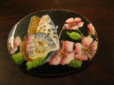 Deliziosa Nouveau SPILLA COLORATI SMALTATO SMALTO Farfalla Farfalla