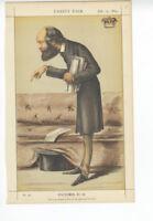 Original 1869 Vanity Fair Print - Statesmen No. 23 - Marquis of Salisbury