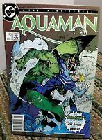 DC Aquaman Mini Series Comic Issue 2 March 1986