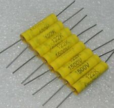 3pcs 100nF 1500V RS Arcotronics Audio Capacitors