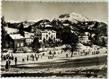 Cartolina Cantoniera Della Presolana m. 1300 - Zona Alberghiera - Campi da Sci