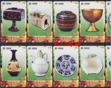 Lot de 50 télécartes service de table culture Chinoise