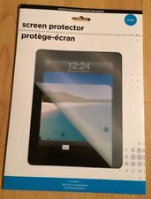 Glossy Screen Protector Fits iPad 3rd & 4th Gen W Retina Display, Cloth Included
