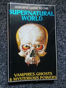 Usborne Guide to the Supernatural World - 1990 Paperback Book - 0860202925