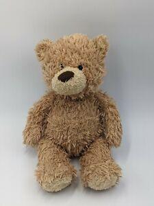 """Light Brown Teddy Bear Soft Plush Toy Vintage Gund """"Stitchie"""" 319929"""