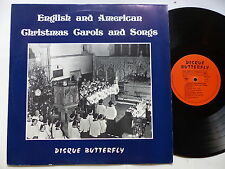 english and american christmas carols and songs spr933 Butterfly Chorale enfants