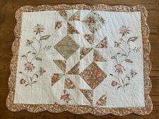 Lot of 2 Nostalgia Home Caroline Standard Pillow Sham Never Used
