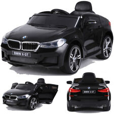 BMW GT 640i SUV Kinderauto Kinderfahrzeug Kinder Elektroauto mit Türen 12V Schw.
