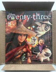 Disney D23 MAGAZINE Spring 2021 Raya And The Last Dragon (NEW) *Free Shipping*