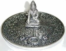Tibetan Buddha Incense Burner Holder for Cones & Sticks